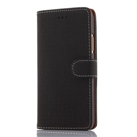 Magnetic Flip Wallet til iPhone X - Black