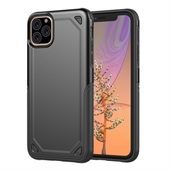 Hybrid Rugged Armor Case for iPhone 11 Pro Max - Black