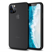 Anti-fingerprint Matte Skin Case for iPhone 11 Pro Max - Black