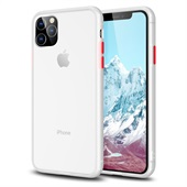 Anti-fingerprint Matte Skin Case for iPhone 11 Pro Max - White