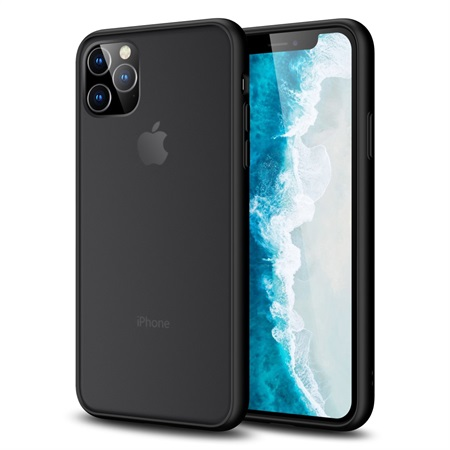 Anti-fingerprint Matte Skin Case for iPhone 11 Pro - Black