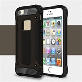 Heavy-Duty Silicone Case for iPhone 5/5S/SE - Black