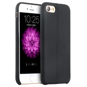 USAMS Slim PU-leather case til iPhone 7/8 - Black