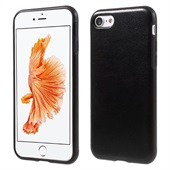 Crazy Horse Leather Cover for iPhone 8/7 - Black