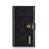DG PU-leather flipcover til iPhone 7 - Sort