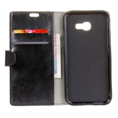 Wallet Leather Case for Samsung Galaxy S10+ Black