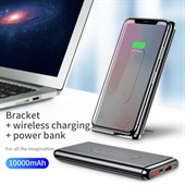 BASEUS Power Bank USB Type-C 10000mAh QI Charging Pad