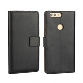 Flip Wallet til Huawei Honor 8 - Black