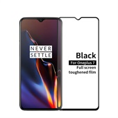 Tempered Glass Protector for OnePlus 7 - Black