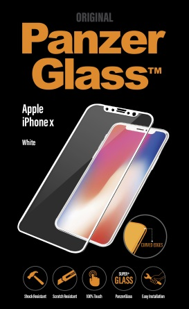 PanzerGlass Premium iPhone X, White