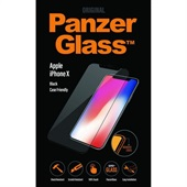 PanzerGlass iPhone X Black Case Friendly