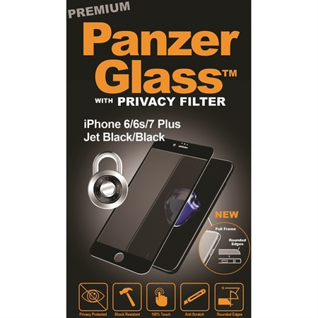 PanzerGlass PREMIUM iPhone 6/6S/7 + Privacy Black