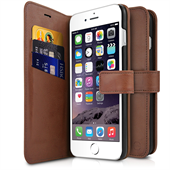 ITSKINS Book + bagcover til iPhone 6/6S/7 - Brun