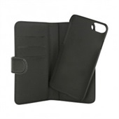 ITSKINS Book + bagcover til iPhone 5/5S/SE - Sort