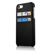 ITSKINS Card Cover til iPhone 5/5S/SE - Sort