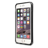 ITSKINS Soft Cover til iPhone 6/6S - Transparent Black