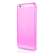 ITSKINS Gel Cover iPhone 8/7/6/6S - Transparent Pink