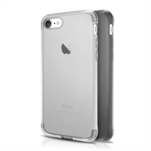 ITSKINS Gel Cover 2-pak til iPhone 7 - Transparent og Black