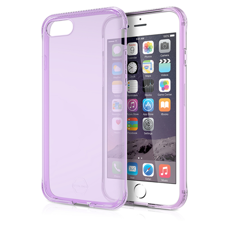 ITSKINS Gel Cover iPhone 7 - Lilla