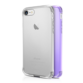 ITSKINS Gel Cover 2-pak til iPhone 6 Plus/7 Plus - Transparent og lilla