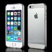 TPU-cover til iPhone 5S/SE - Transparent