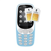 Nokia 3310 (2017)  Dual SIM Blue 3G