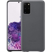SAMSUNG GALAXY S20+ LEATHER COVER GREY