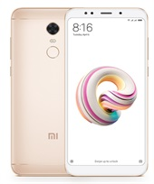 Xiaomi Redmi 5 Plus 3GB RAM 32GB Dual SIM - Gold
