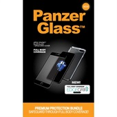 PanzerGlass PREMIUM iPhone 7 Black + EdgeGrip cover