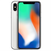 Apple iPhone X 64GB Silver uden abonnement
