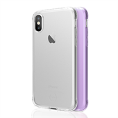 ITSKINS Gel Cover iPhone X 2-pak Klar/Lilla
