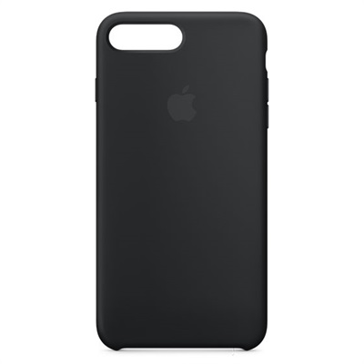 Apple iPhone 7/8 Plus Silicone Case - Black