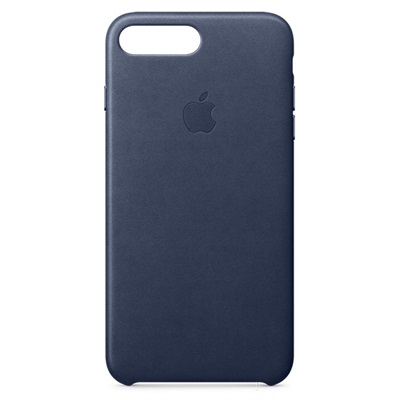 Apple iPhone 7/8 Plus Leather Case - Midnight Blue