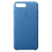 Apple iPhone 7/8 Plus Leather Case - Sea Blue