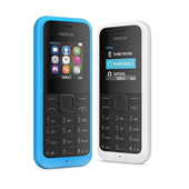 Nokia 105 (2015) Dual SIM Black UK Menu