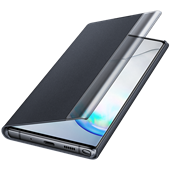 Clear View Cover Black for Samsung Galaxy Note 10 Plus