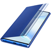 Clear View Cover Blue for Samsung Galaxy Note 10 Plus