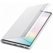 Clear View Cover White for Samsung Galaxy Note 10 Plus