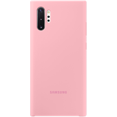 Silicone Cover Pink for Samsung Galaxy Note 10 Plus