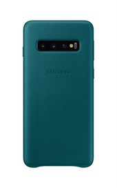 Samsung Galaxy S10 Leather Cover - Green