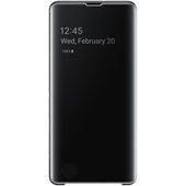 Samsung Galaxy S10 Plus Clear view cover - Black