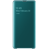 Samsung Galaxy S10 Plus Clear view cover - Green