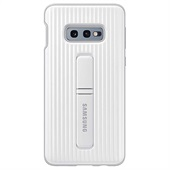 Samsung Galaxy S10e Protective Standing Cover - Silver